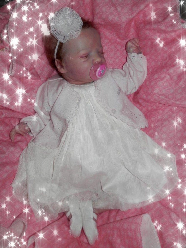 Ma petite Mary (Kit Realborn Presley Asleep Sculpt  Denise Pratt # 884 out of 1500)