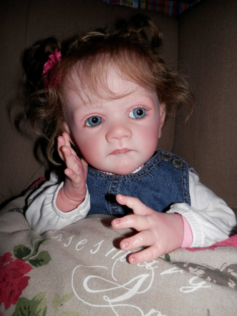 Ma petite Abigail (Kit Realborn Frida Sculpt Karola Wegerich # 1247 out of 1333)