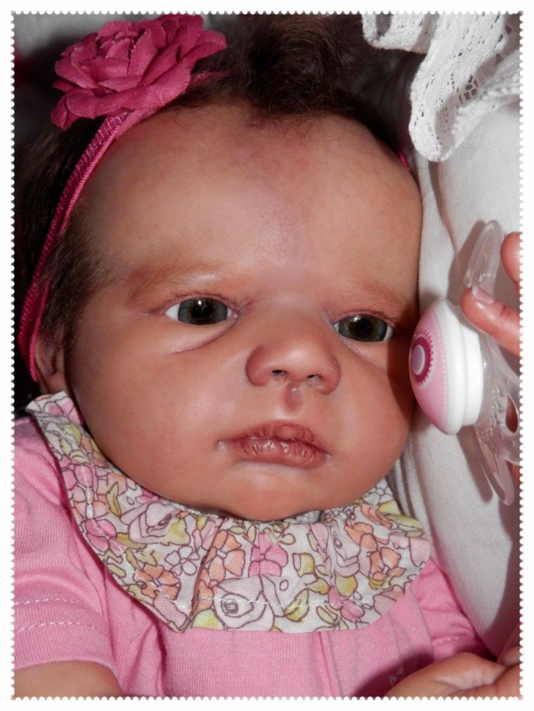 Ma petite Lilly-Rose (Kit Realborn Annie Sculpt Karola Wegerich # 265 out of 666 )