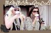 21/02/2011 : Kourtney Kardashian et son amie, Joyce Bonelli , prenez du café et des bagels