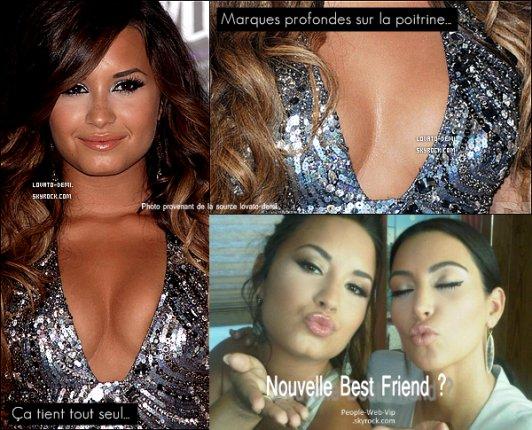 Depuis sa cure  Demi Lovato reaparait plus sublime que jamais avec son nouveau style  et ses nouvelle forme qui lui vont tellemnt bien .. On la prefere comme sa notre Demi (A).