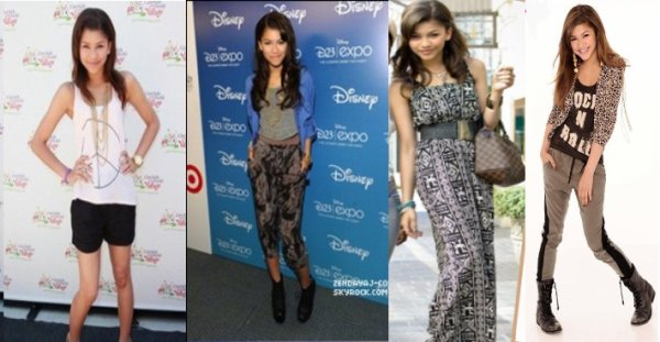 J'adore le style des actrice de shake it up ;& you ?
