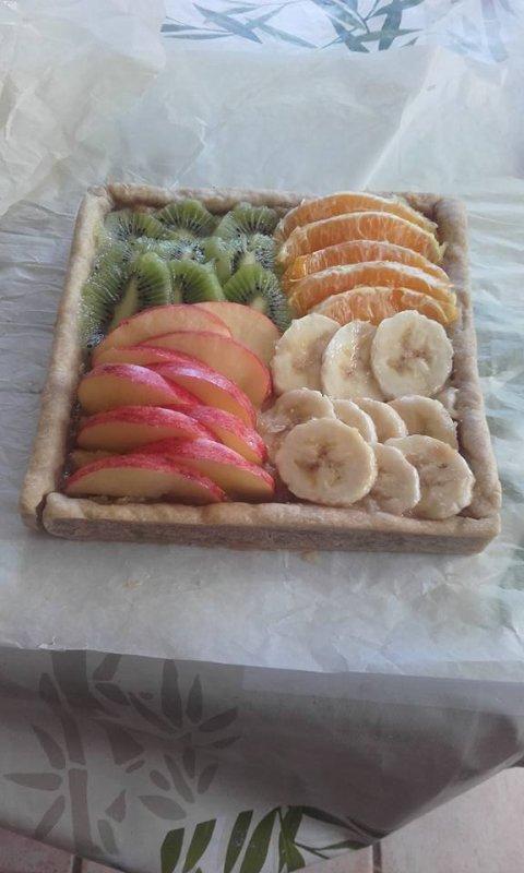 Tarte tutti fruity