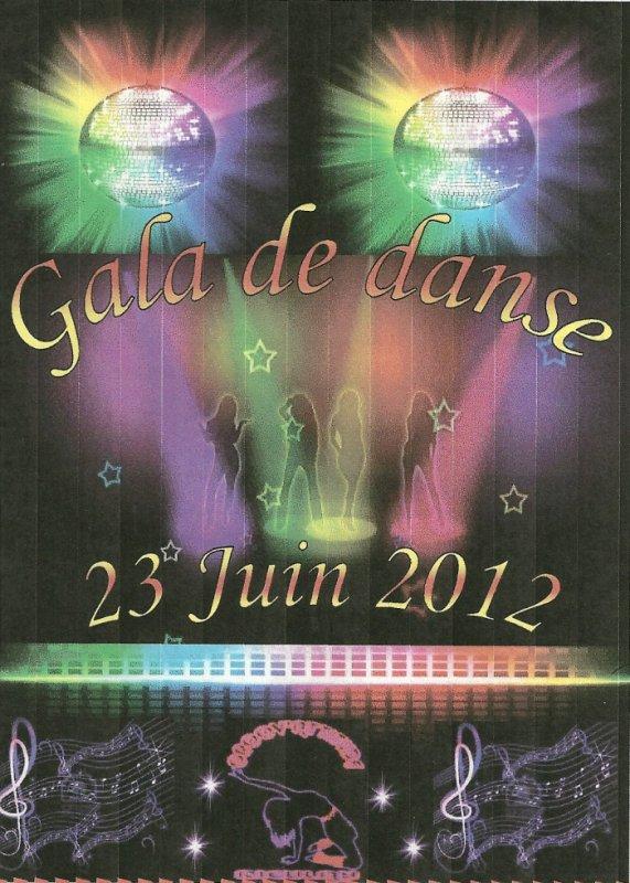 Gala de danse 23 Juin 2012 de mon association de Groov'Attitude Rieulay