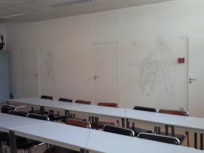 Décors mural à l'AFPA de PAU pour une salle de réunion - septembre 2010-
