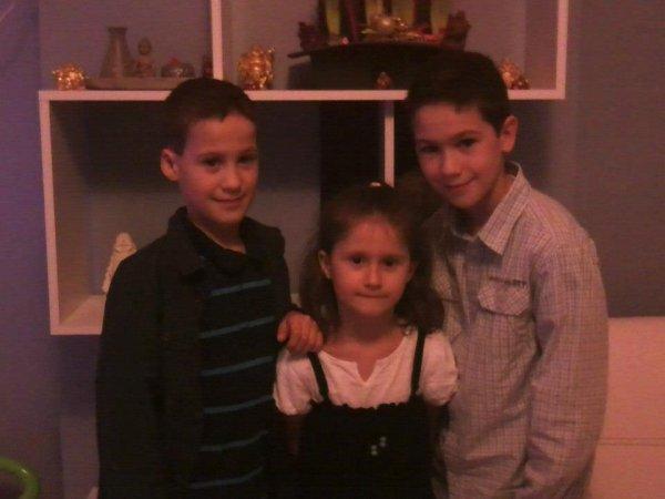 encore ma filleule et mes deux cousin