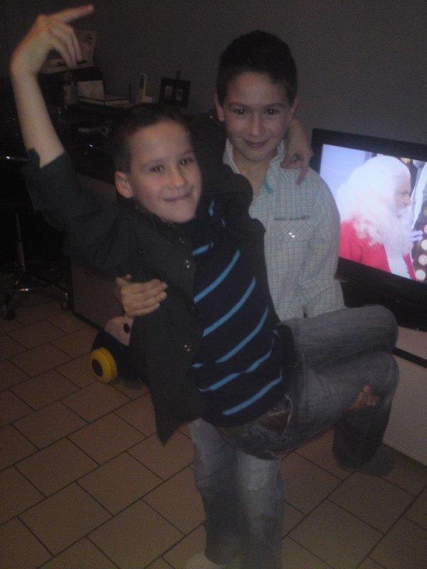 mes deux cousin que jaime