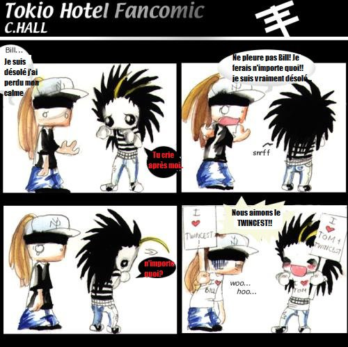 Tokio Hotel Partie 1: Bill & Tom