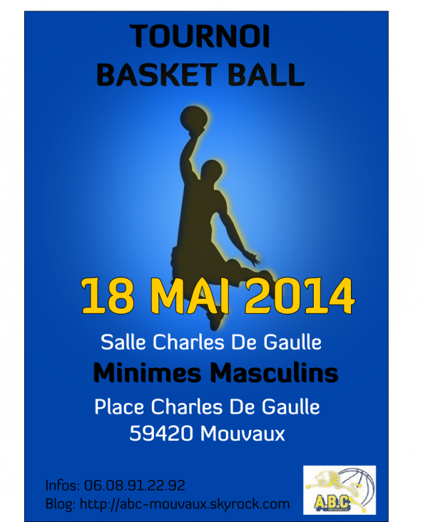 TOURNOI MINIMES MASCULINS DU 18 MAI 2014
