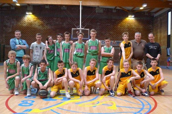 les equipes du tournoi minimes
