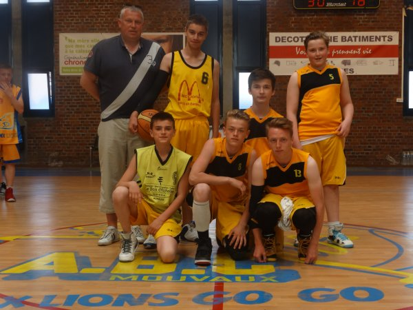 Tournoi minimes : les équipes