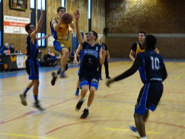 U20 Masculins face à Marcq en Baroeul 11 decembre 2016