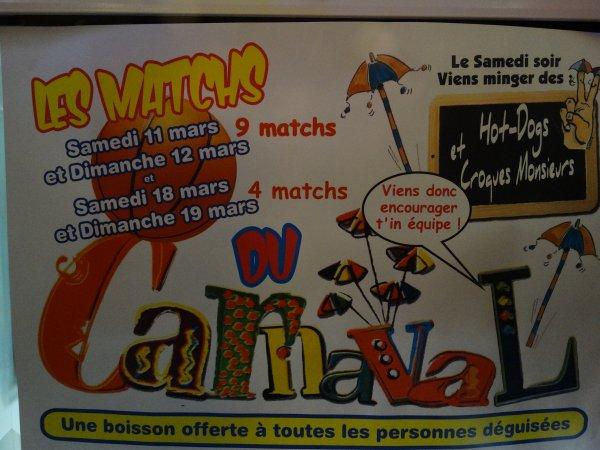9  mars: C'est le carnaval salle Charles De Gaulle !!!