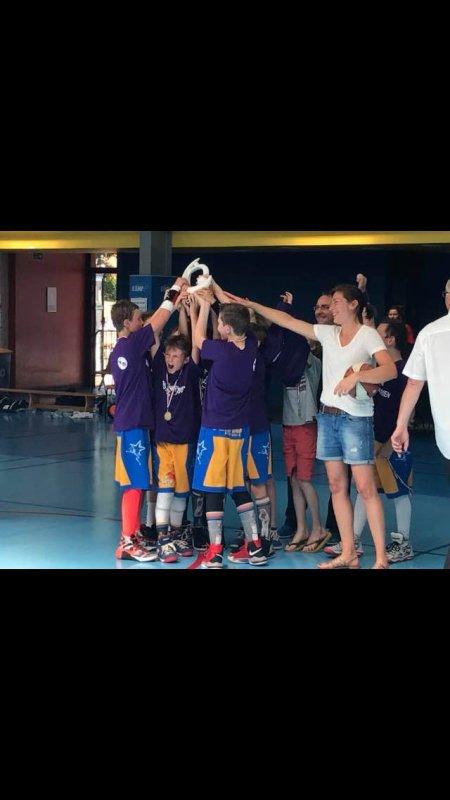 les Poussins champions TD4!