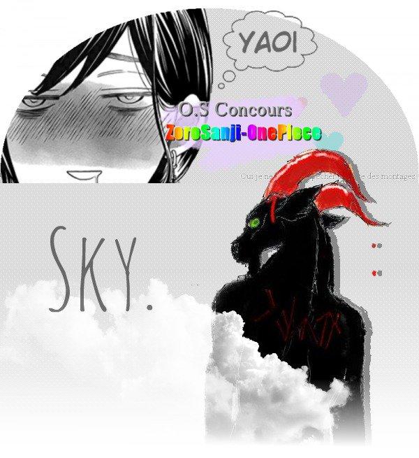 〖O.S Concours ZoroSanji-OnePiece.〗SKY.