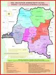 Carte de la RD Congo