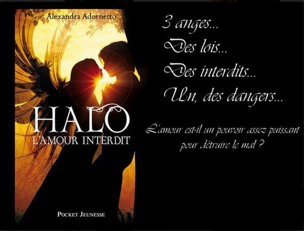 L'amour interdit Tome 1 : Halo d'Alexandra Adornetto