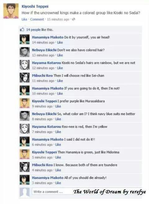 Conversation facebook version manga 1