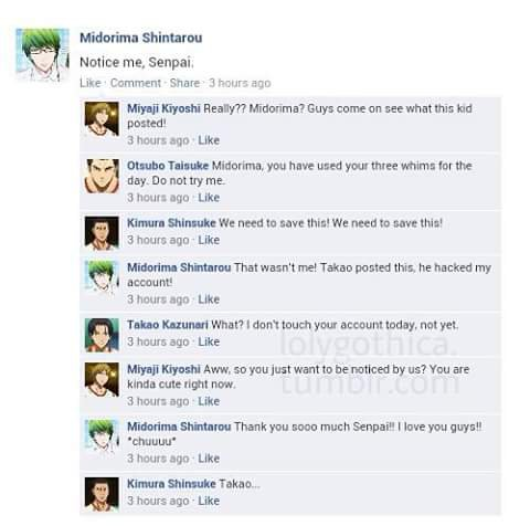 Conversation facebook version manga 1