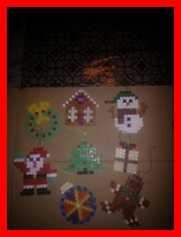 Mes petites décoration de Noel