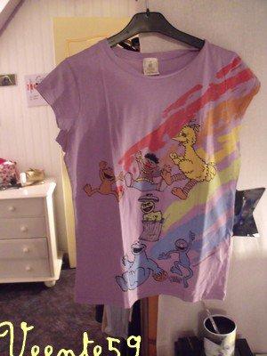 Tee shirt sesame street