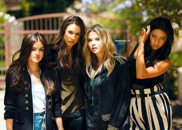 Photoshoot Nylon magazine~Les filles ont posés pour Nylon Magazine.