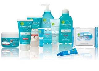 Les produits contre l'acné.