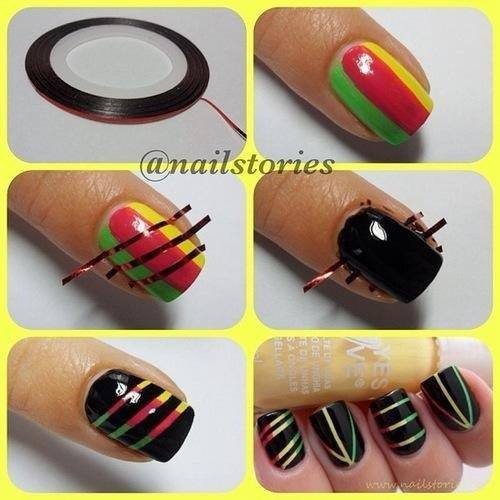 Tutos nail art!