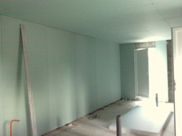 Isolation mur placo amazing isoler un mur isolation with for Placo isolation mur interieur