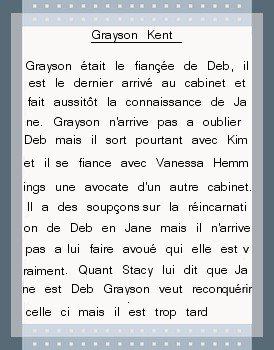 ▼Présentation  Grayson Kent joué par Jackson Hurst Création