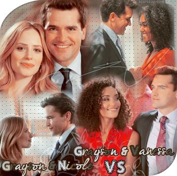 """Duel partie 1 : Les relations de Grayson  Grayson :  """" Je vous poursuivrai en justice pour ajout de détresse émotionnelle  sur un être déjà en pleine détresse émotionnelle !"""