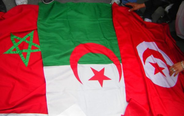 Algériie Maaroc Tuniisie touss réunie aïe aïe aïe