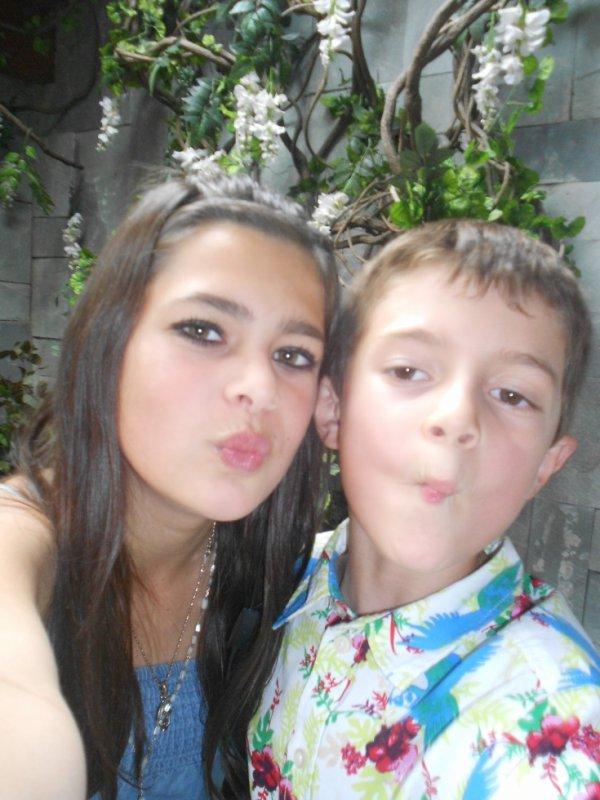 Moi et Mon petit cousin d'amour <3 :)