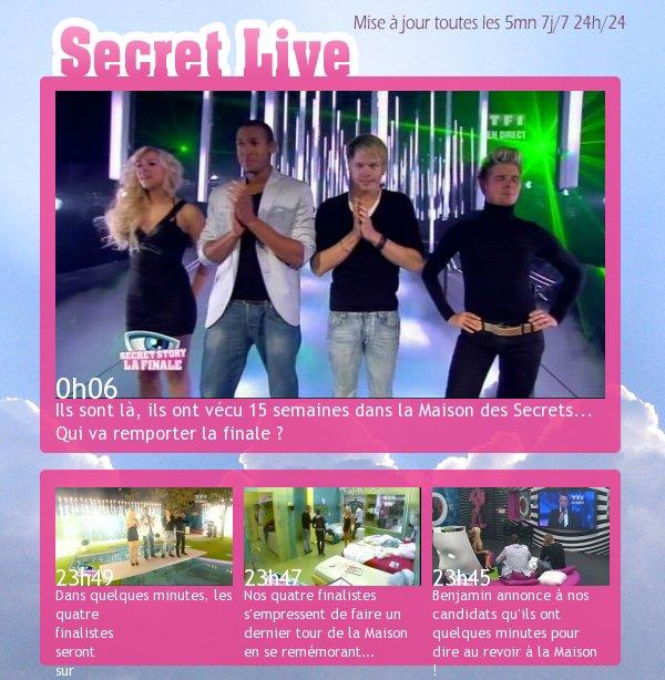 Suivez le Secret Live sur xx-b0-mec-xx !