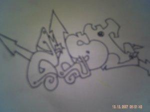 dessin de tag chst j'ai mis 1h30