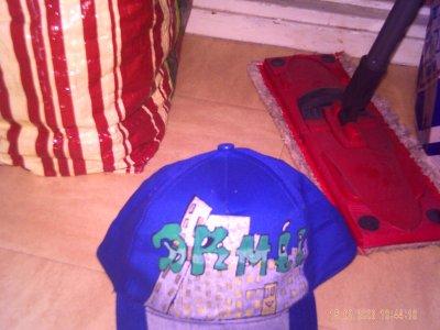 mes deux casqueette que j'ai fait