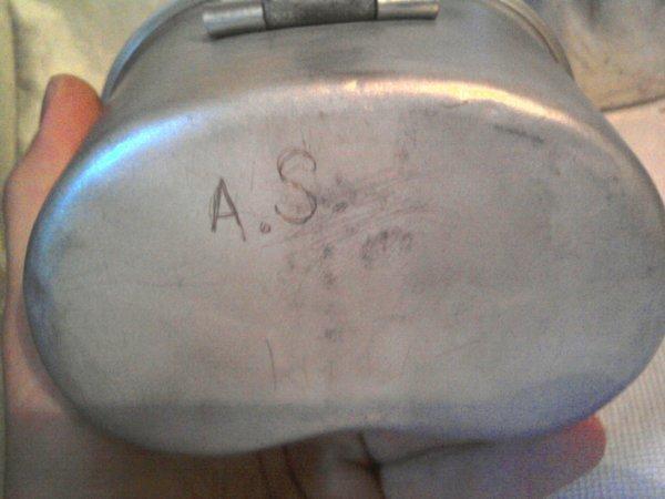 """1/4 us gravé """" A.S SVEIN """""""