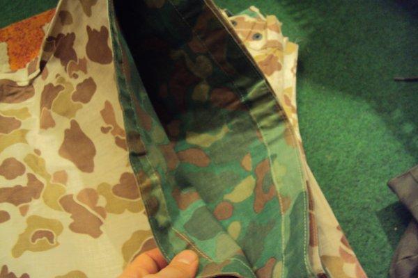 poncho toile de tente USMC ww2