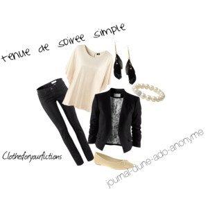 tenue de soiree pour journal dune ado anonyme clothes for your fictions. Black Bedroom Furniture Sets. Home Design Ideas