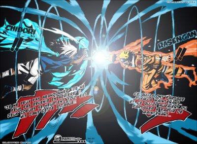 Naruto d mon renard a une queue vs sasuke 2eme forme blog de naruto - Demon de sasuke ...