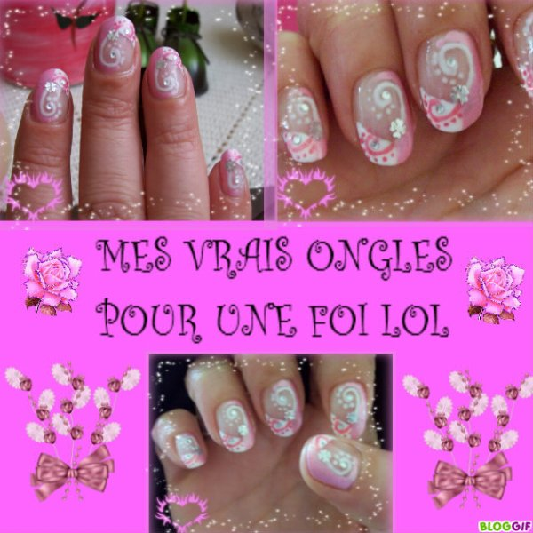 MES VRAIS ONGLES