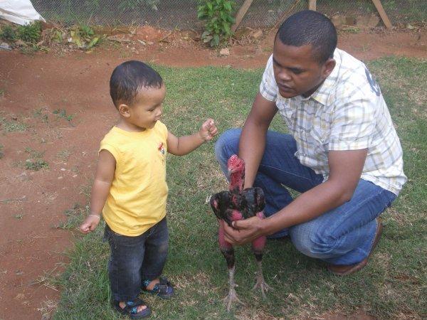 Moi, mon fils et Peau Rouge