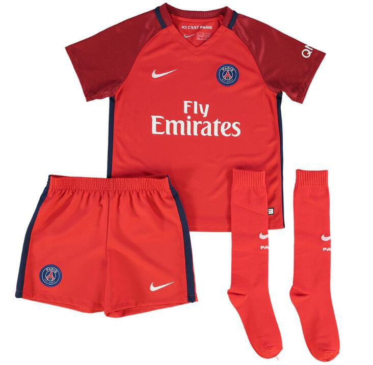maillot psg enfant 2016 2017 domicile football. Black Bedroom Furniture Sets. Home Design Ideas