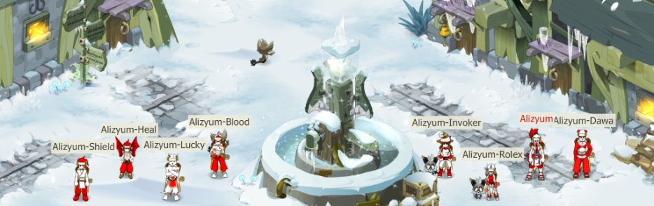 Les aventures de la team Alizyum !