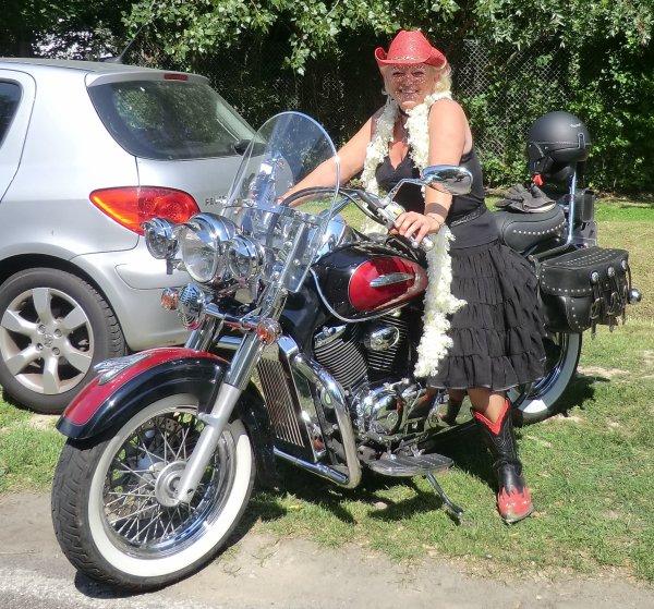 le reve commence a devenir realité , passer le permis moto ! lol