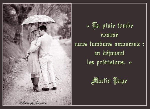 Que ne suis-je échangé en précieuse pluie - Marc  PAPILLON DE LASPHRISE