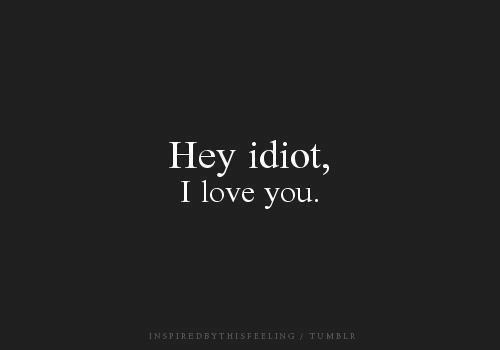 Je t'aime..