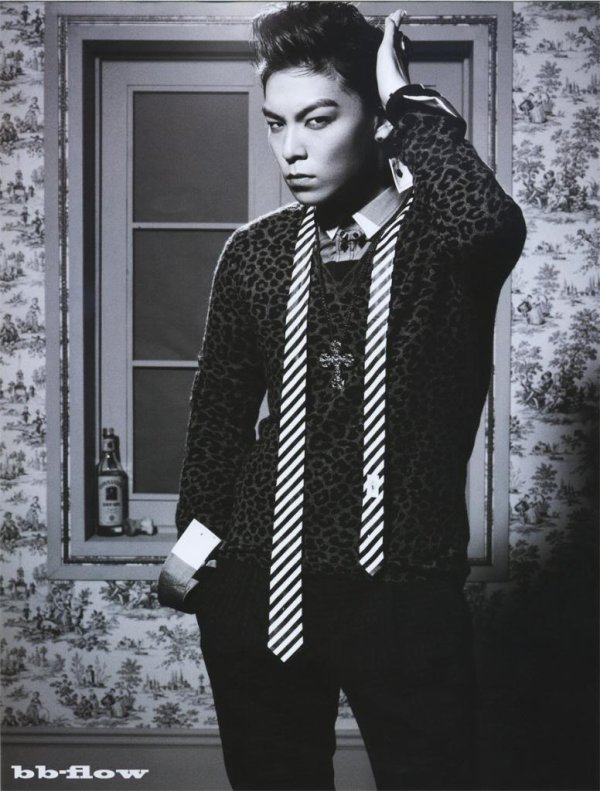 T.O.P dans le magazine ELLE