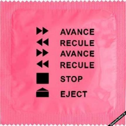 Faite l'amour pas la guerre les préservatifs coûte moin chair que les bombes nucléaire ;)
