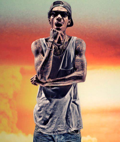 WIZ Khalifa ! <3